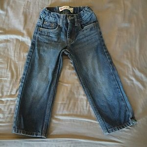 Levi 549 relaxed straight leg jeans